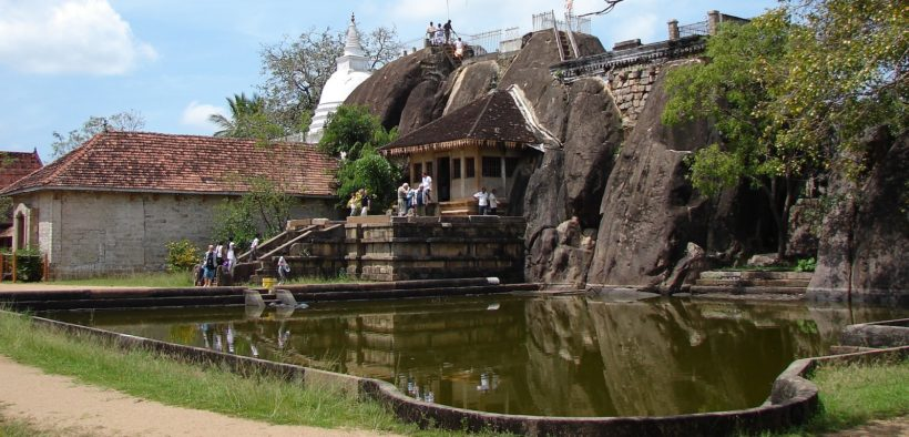 Isurumuniya rock temple